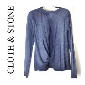 ✨ CLOTH & STONE LONG SLEEVE TOP